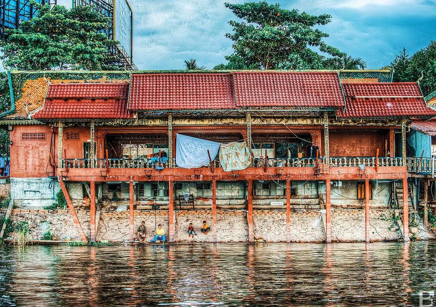Cambodia in rain season 7