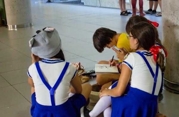 Público III Salón del Manga LSYMI en 'Campo de Gibraltar' (La Línea de la Concepción)