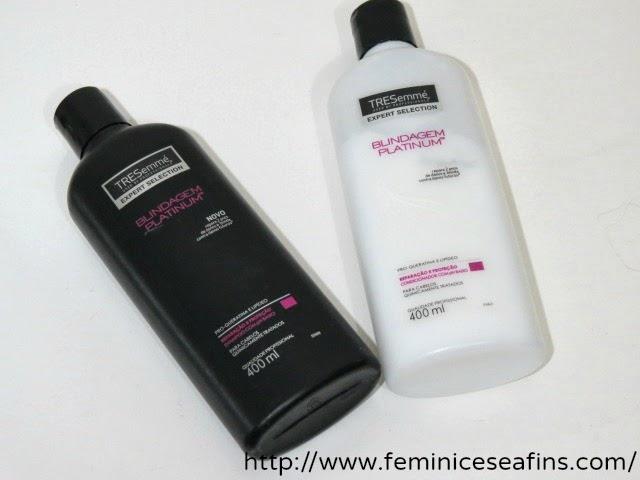 Shampoo e condicionador TRESemmé