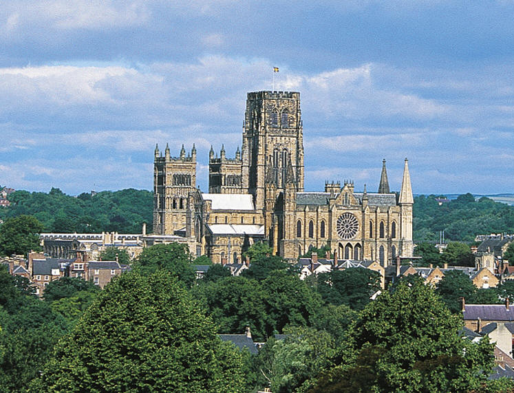 Present perfect this is where i live for Catedral de durham interior