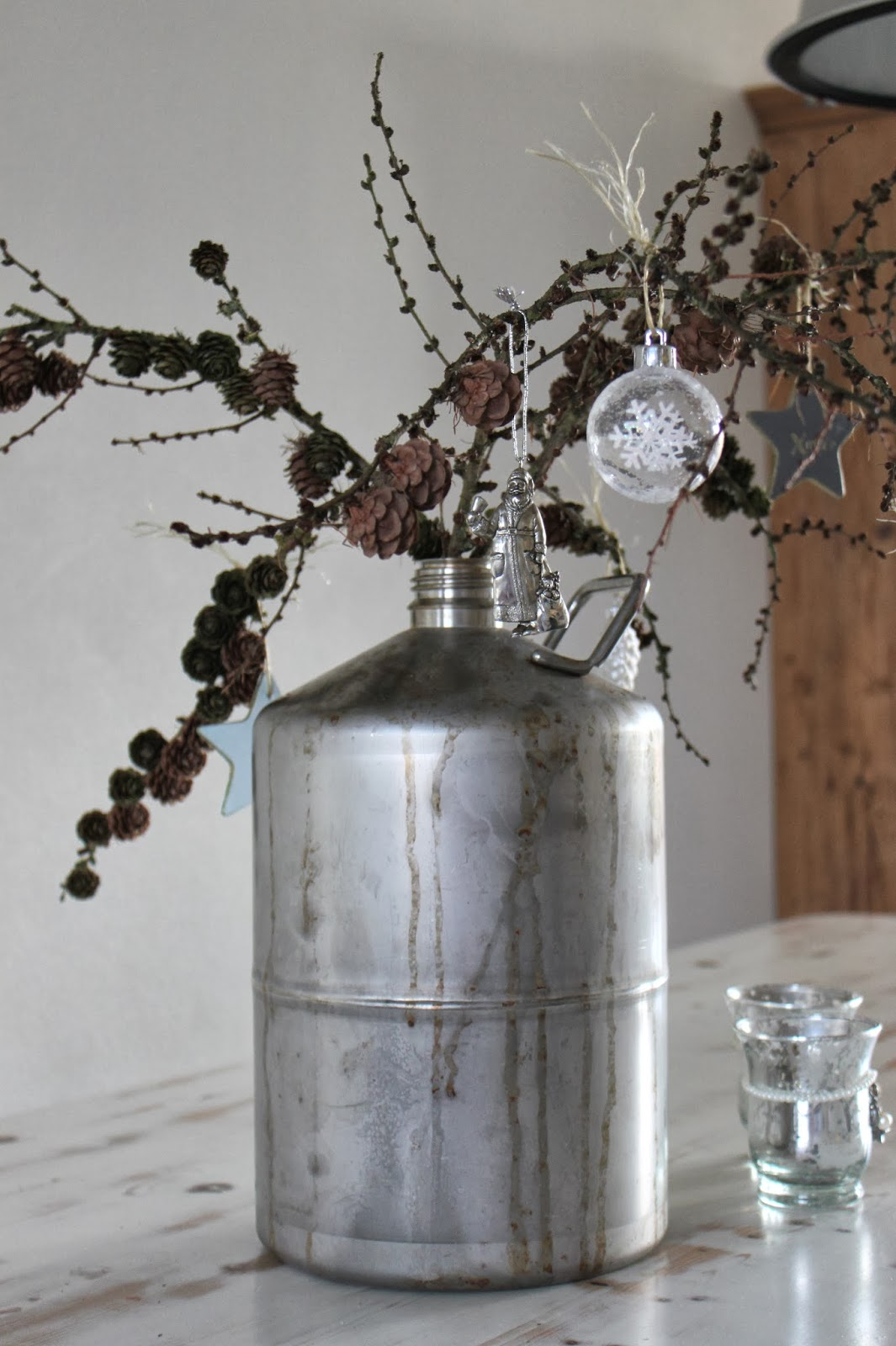 The style of miss m: kerst tafel met zoutzuur