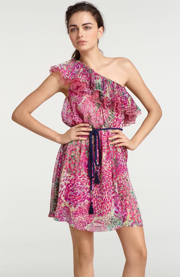 world style short garden party dress