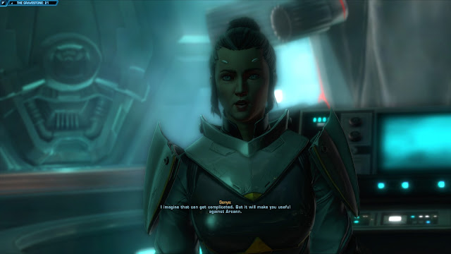 star wars the old republic, Knights of the Fallen Empire, Chapter V From The Grave senya gravestone core