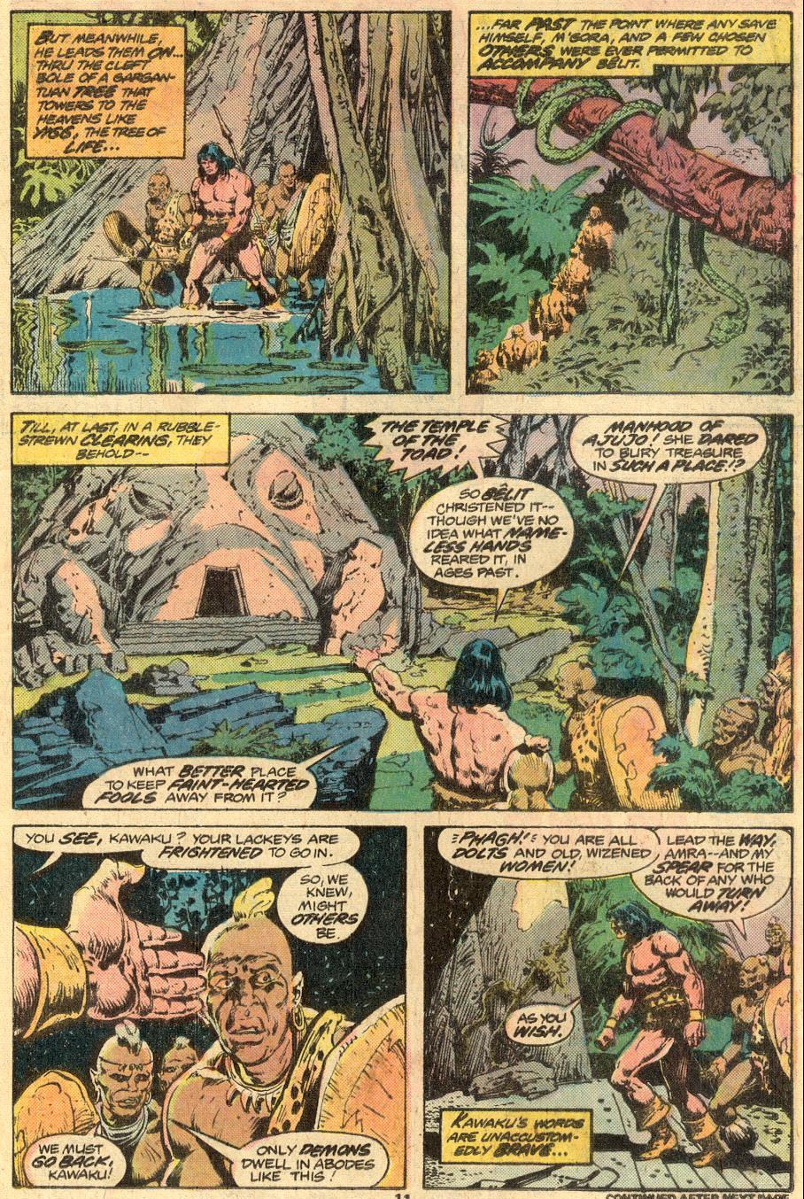 Conan the Barbarian (1970) Issue #73 #85 - English 8