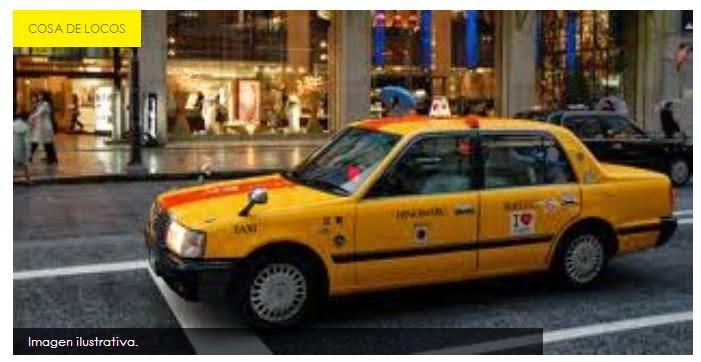 Taxista hacía orinar a pasajeras en el auto