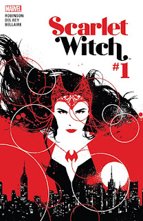 Cover of The Scarlet Witch #1 from Marvel Comics