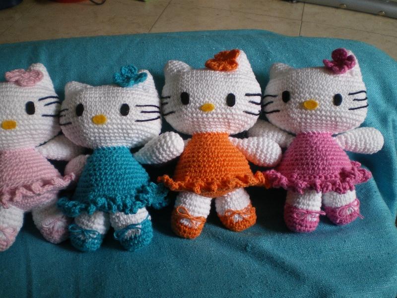 Patron Amigurumi Hello Kitty En Espanol : El rincon de Mae: Hello Kitty y mas amigurumis