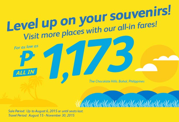 Cebu Pacific Promo Ticket