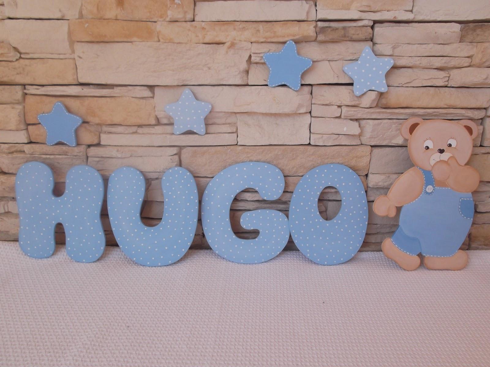 Decoracion letras de madera - Madera para decorar ...