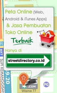 Peta Online (web, android&iTunes Apps)&Jasa Pembuatan Toko Online