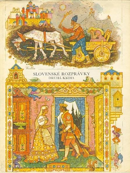 II. kniha zo zbierky rozprávok Pavla Dobšinského