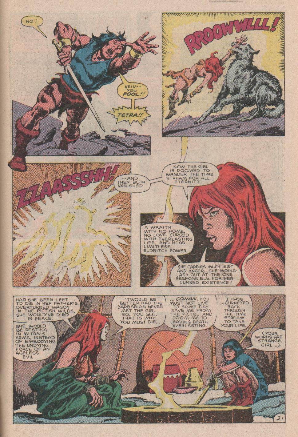 Conan the Barbarian (1970) Issue #178 #190 - English 22