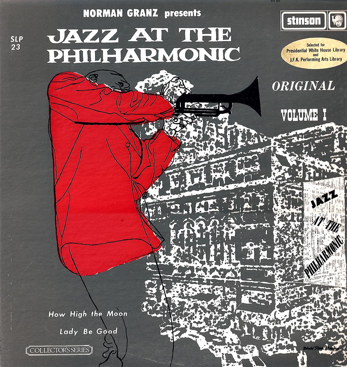 Norman Granz presents Jazz At The Philharmonic Jazz At The Philharmonic In Europe