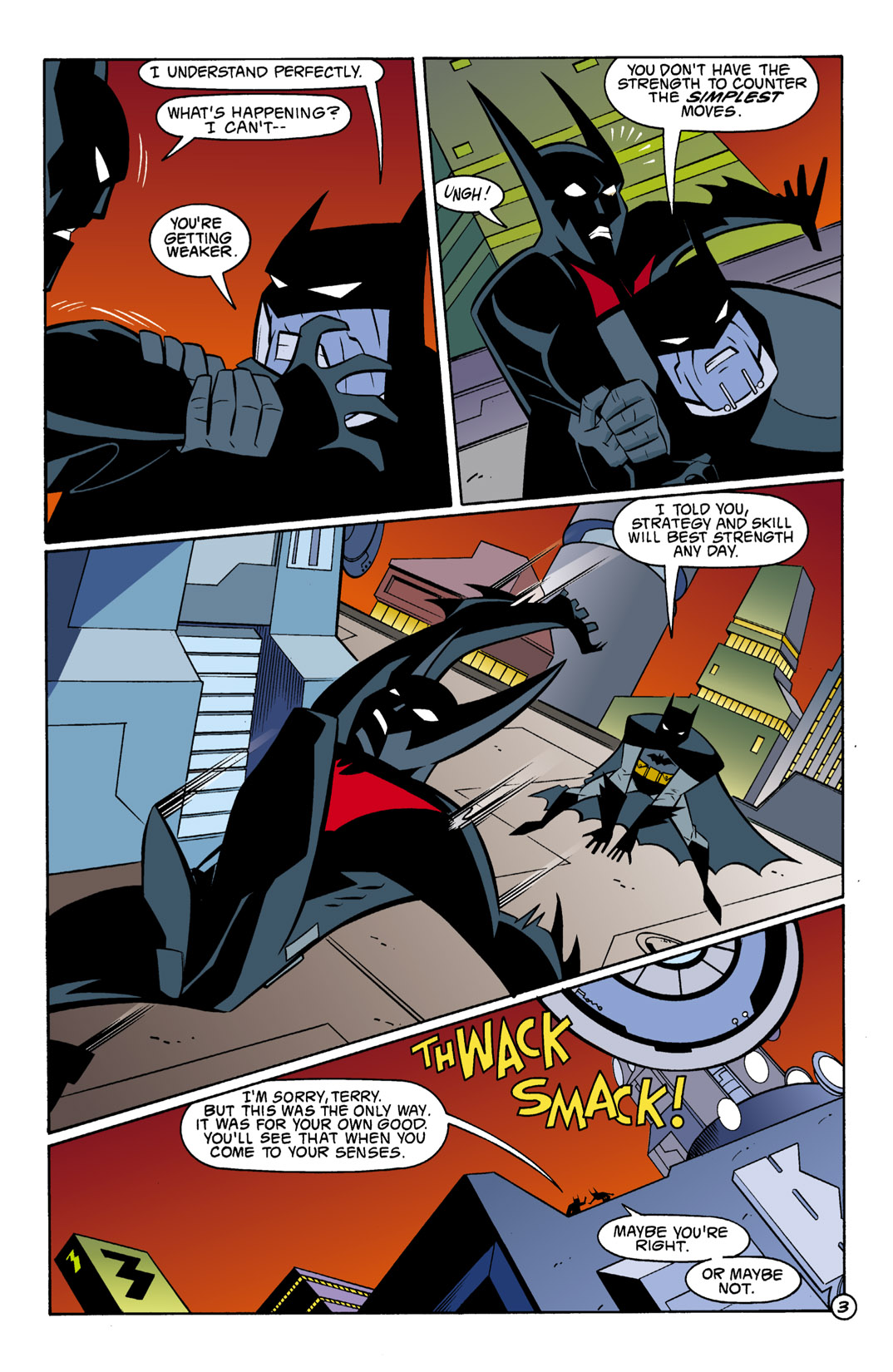 Batman Beyond [II] Issue #1 #1 - English 4