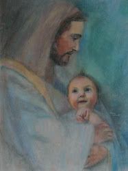 Lilly in the arms of Jesus