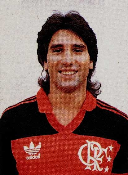 Ренато Гаучо в форме Фламенго.