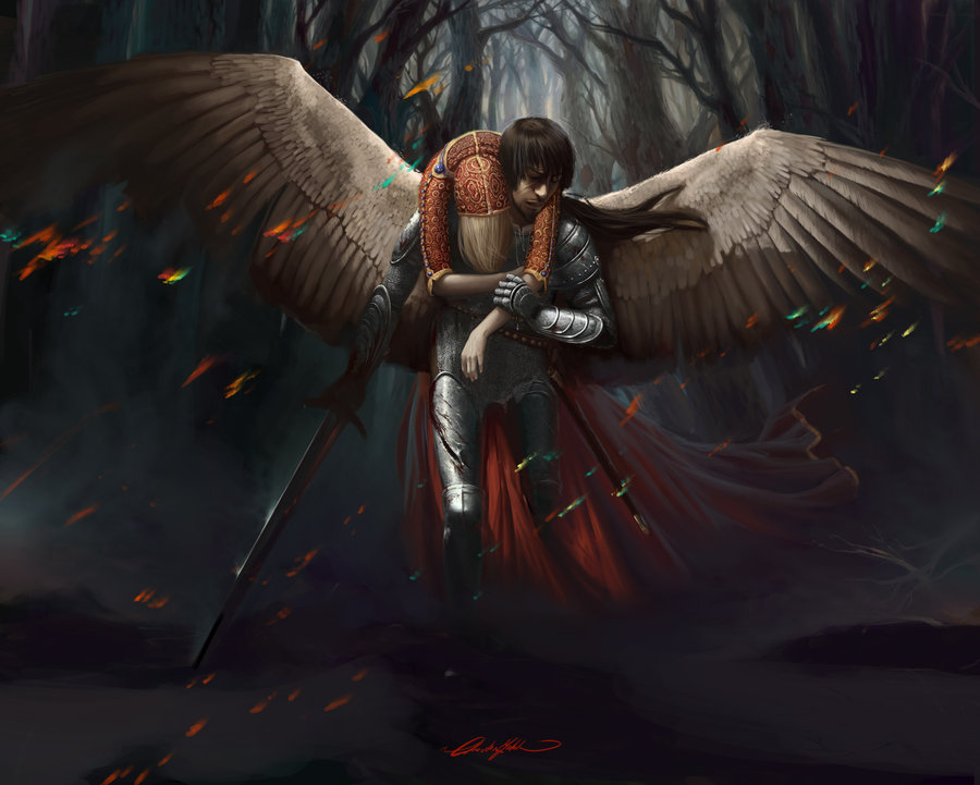 The Angels Sanctuary Angel  Armored Guardian ChristinZakh