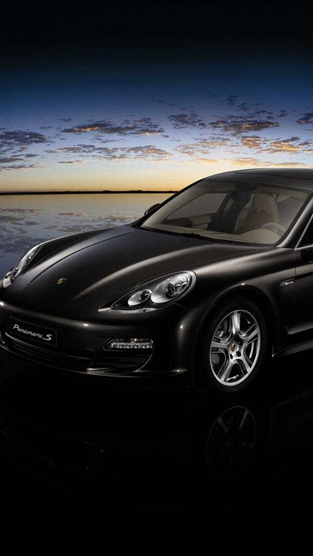 Porsche Panamer Car Iphone 5 Wallpapers