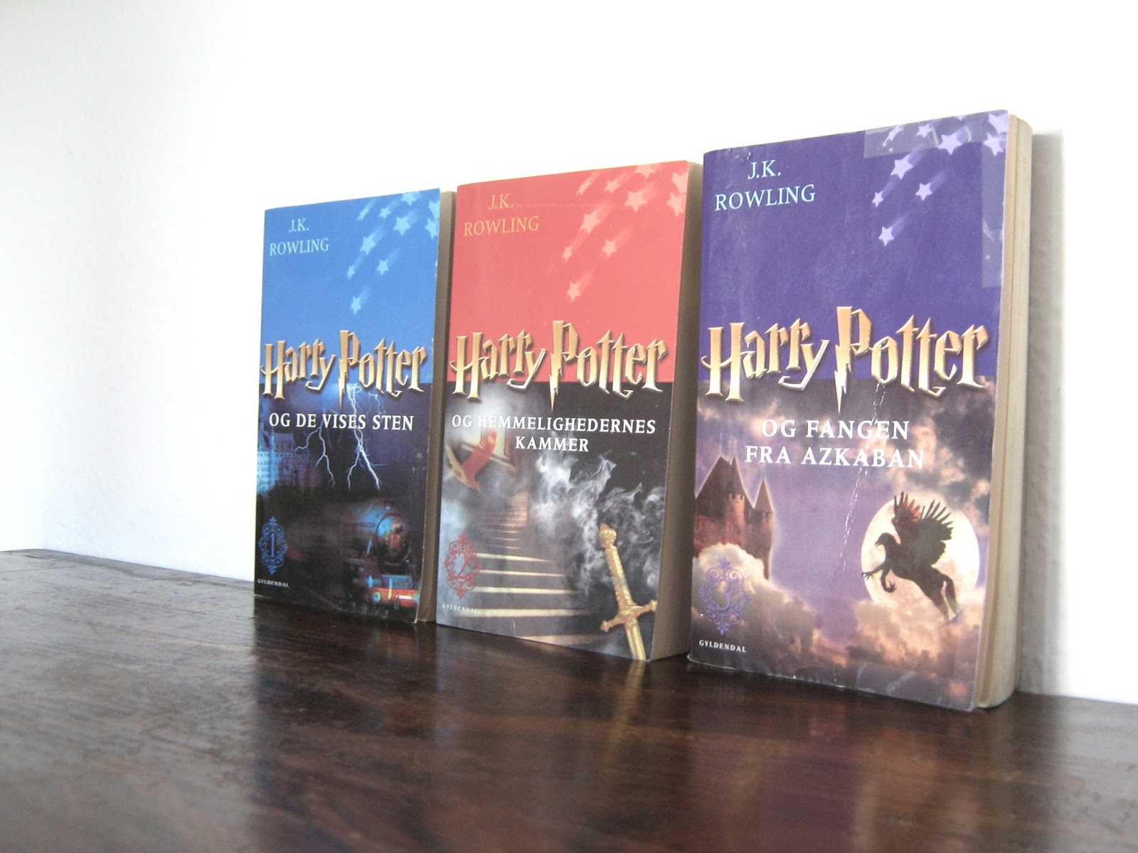 harry potter paperback dansk