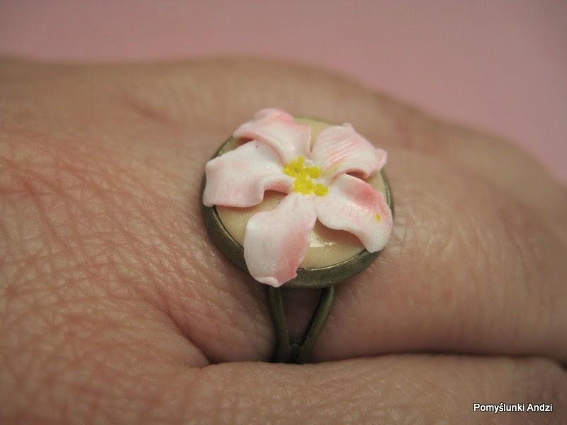 ring, flower, pierścionek, z kwiatem,