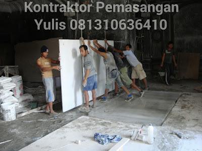 Pemasangan Marmer Lantai dan Marmer Dinding