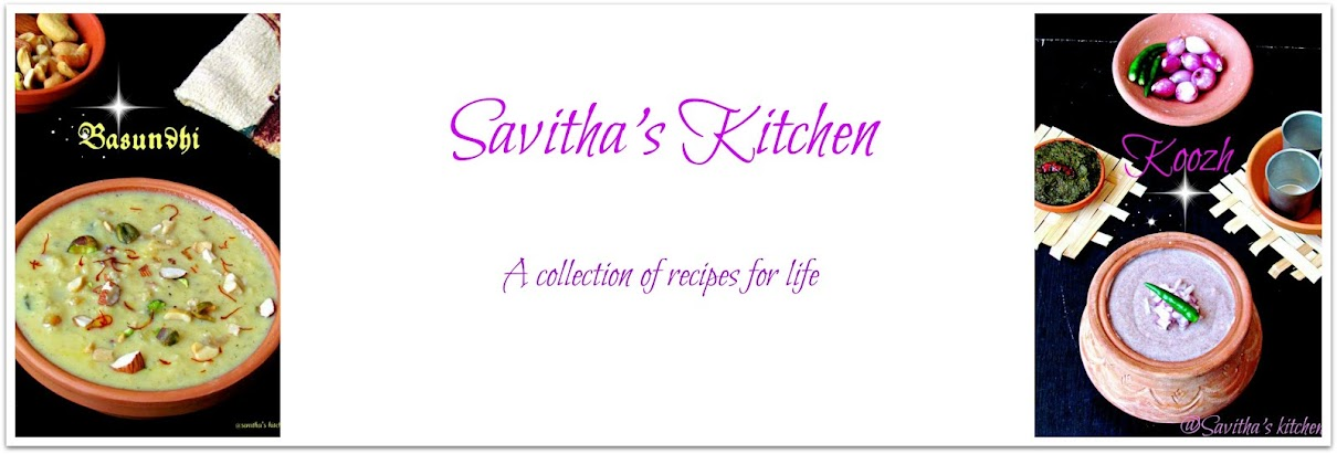 Savitha&#39;s Kitchen