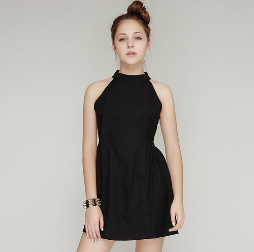 Timeless Halter Dress