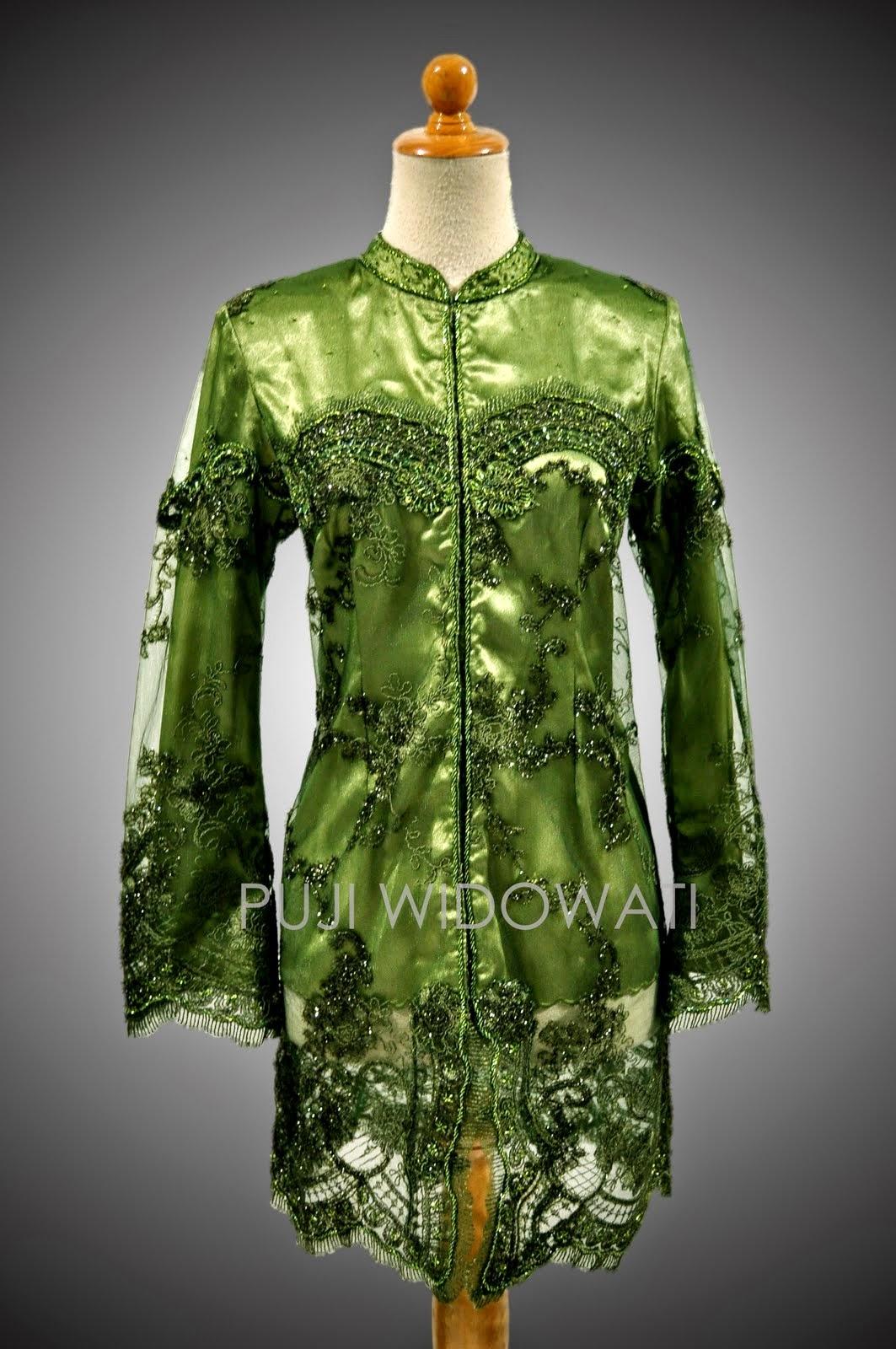 Foto Model Baju Kebaya Brokat Muslim