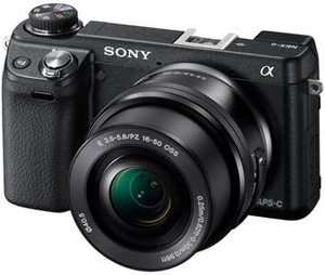 Sony Alpha NEX-6 Mirrorless Digital Camera with 16-50mm Zoom Lens Available For Pre-Order
