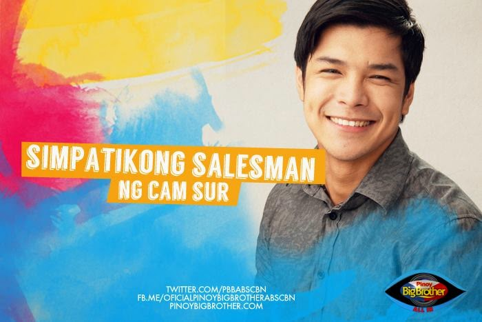 "PBB:All In housemate ""Chevin Cecilio"" ang Simpatikong Salesman ng CamSur"