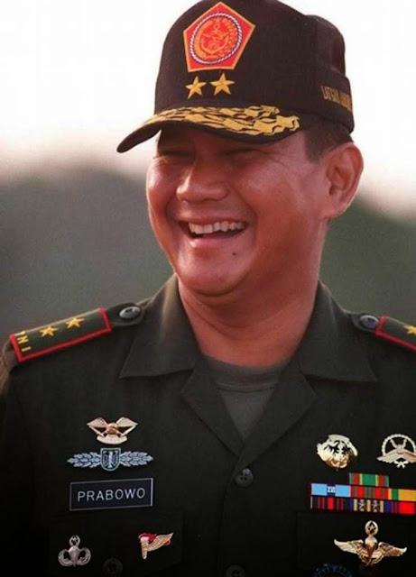 Foto tokoh Prabowo Subianto