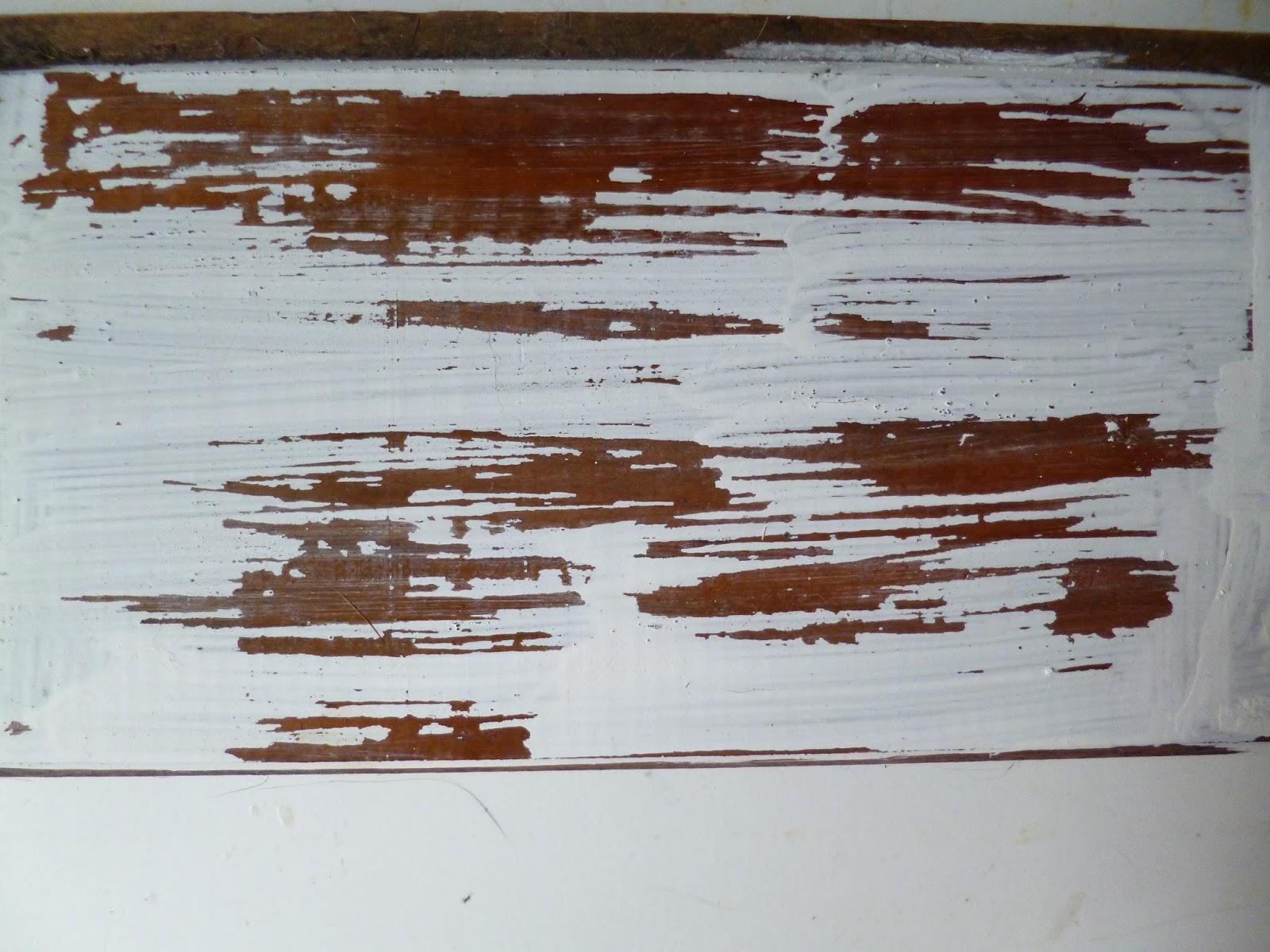 Decapar Madera En Blanco Amazing Cmo Decapar Una Vieja Cmoda With  # Muebles Efecto Decapado