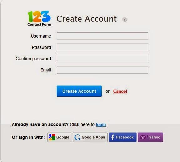 Cara Membuat Halaman Contact Pada Blog