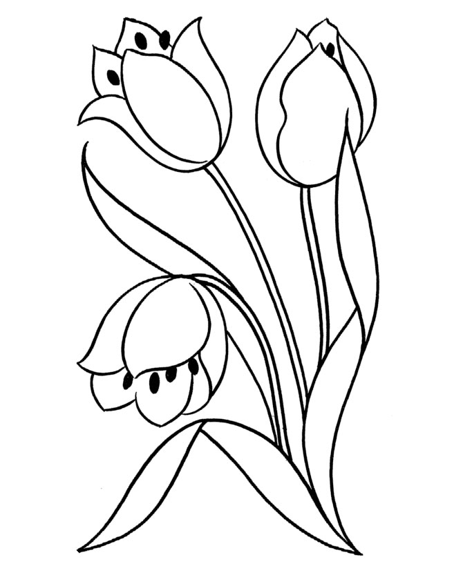 Flower Coloring Pages   Printable Coloring Pictures Of Flowers   FREE; You  Also Find It Here Together With More Flower Printables: Http://www.debtfu2026