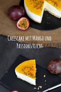 Frozen Cheescake mit Mango und Passionsfrucht