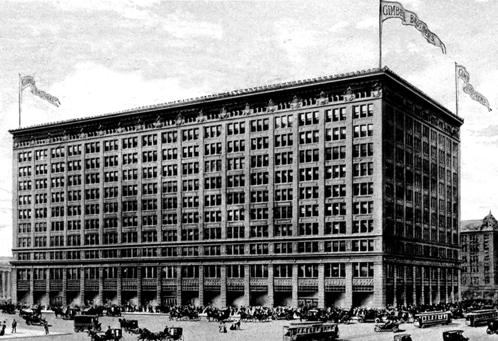 Gimbels Occupied Half Of A City Block And Faced Greeley Square On Its East Side
