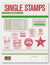 Single Christmas Stamps