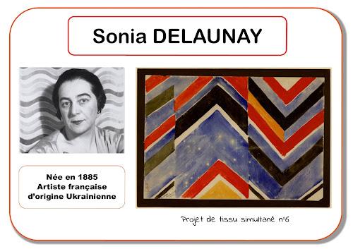 Sonia Delaunay - Portrait d'artiste en maternelle