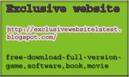 Free Download Games Softwares Exclusive Website Latest