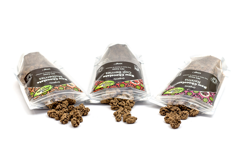 Raw chocolate Čokodlani paket odprte