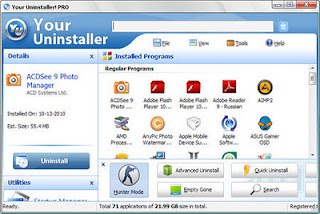 Download Your Uninstaller! Pro 7.4.2012.01 Final Full Version +  Key