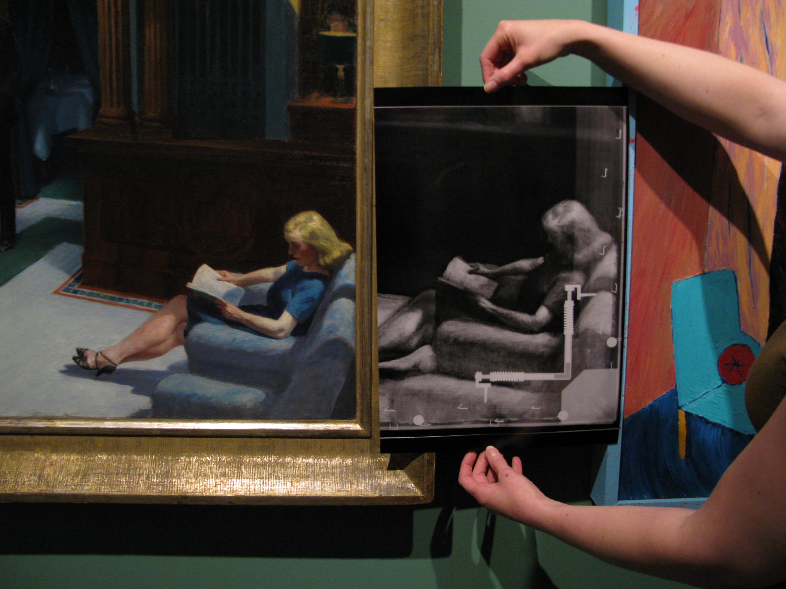 hopper eitel artist comparison On the relationship between edward hopper's paintings and cinema july 19, 2015 by carlos gonzález garcía posted in: aleph recommends.