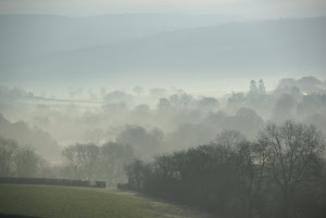 Morning mists over Pant yr Hwch