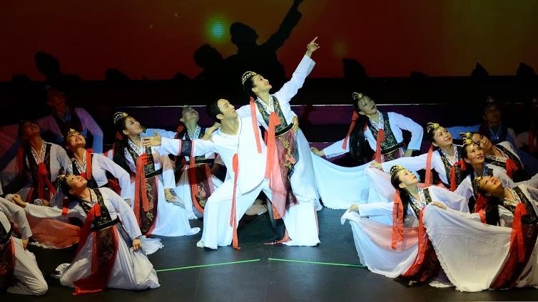 ChaoXian Dance (为了爱)