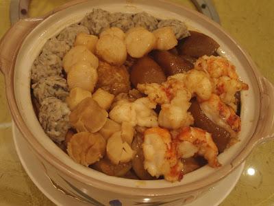龙虾球鲍鱼盆菜