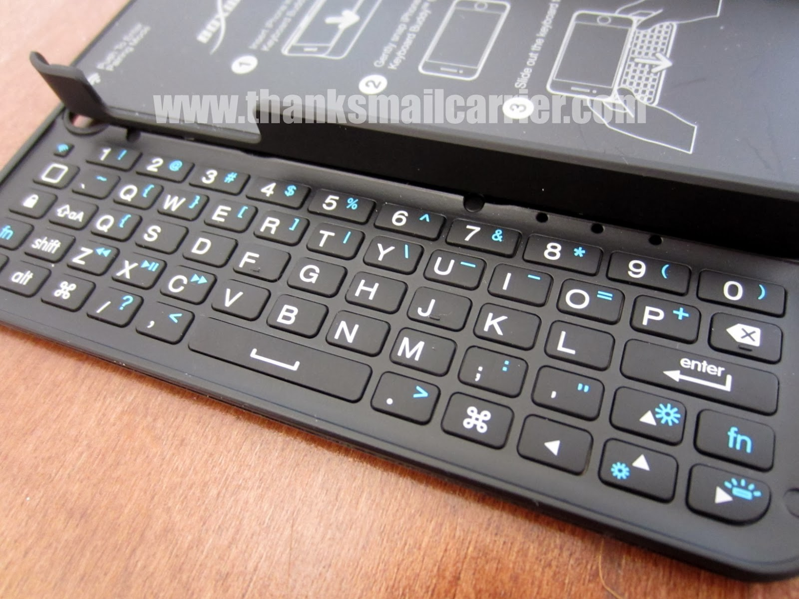 BoxWave iPhone 5 keyboard case