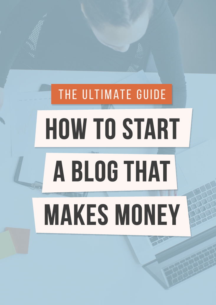 How To Create A Profitable Blog - #infographic