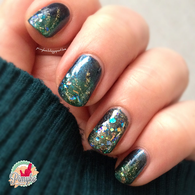 "pimyko nailart ""Miss universe"" by Essence + aengland + Cirque"