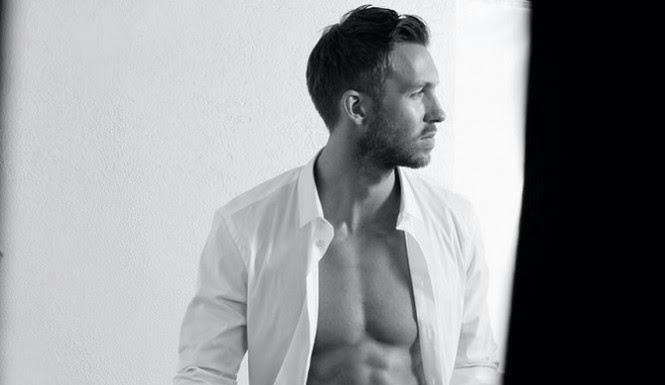 calvin+harris+shirtless