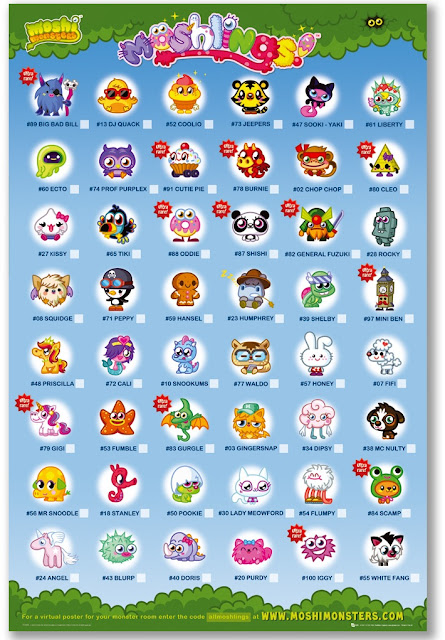 Moshlings Poster